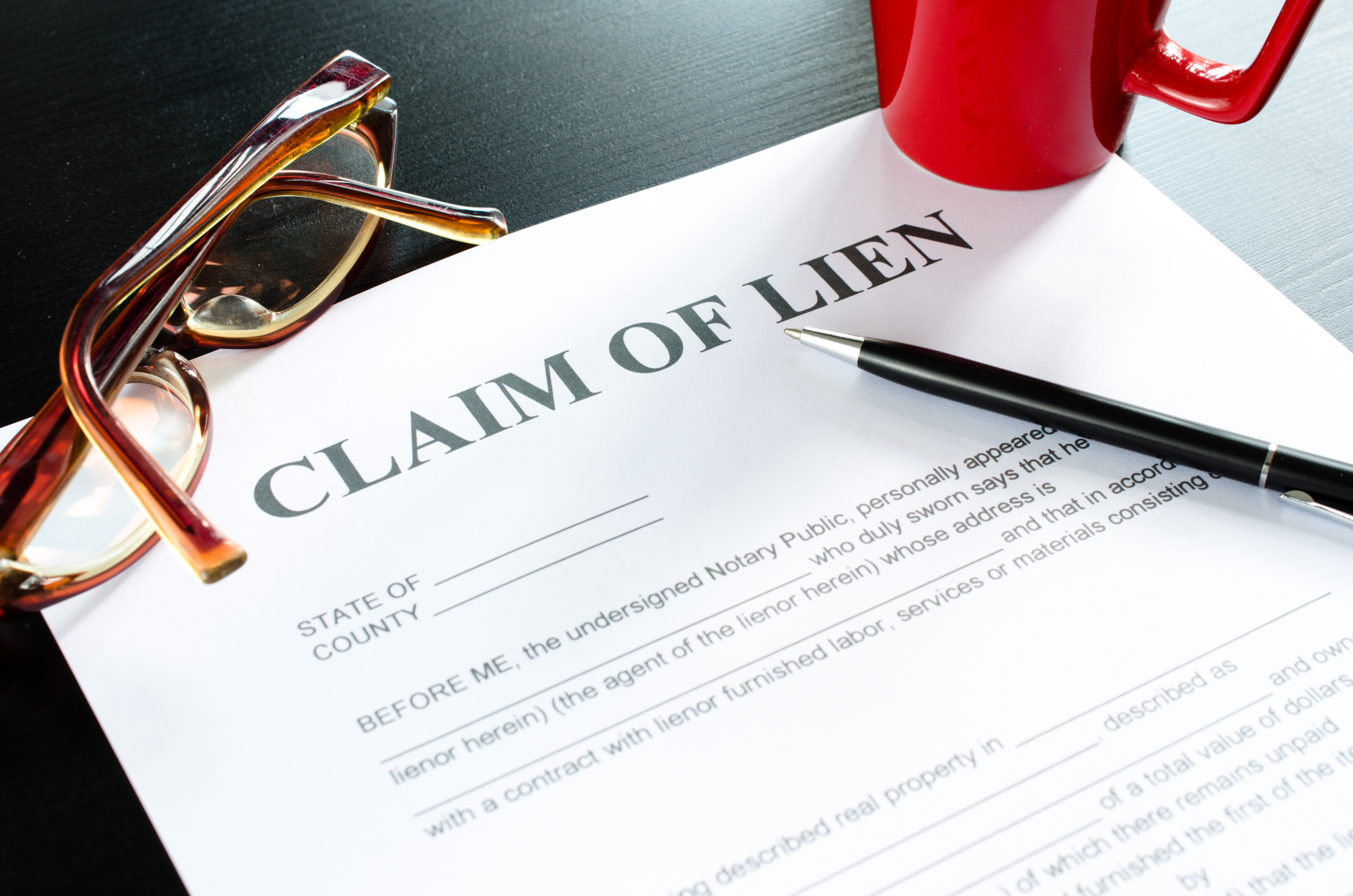Find Out if a Property has a Lien